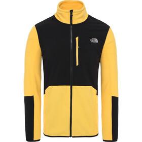 The North Face Glacier Pro FZ Jacket Herre tnf yellow/tnf black